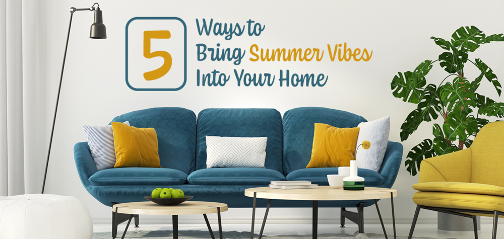 Summer decorating ideas for living room