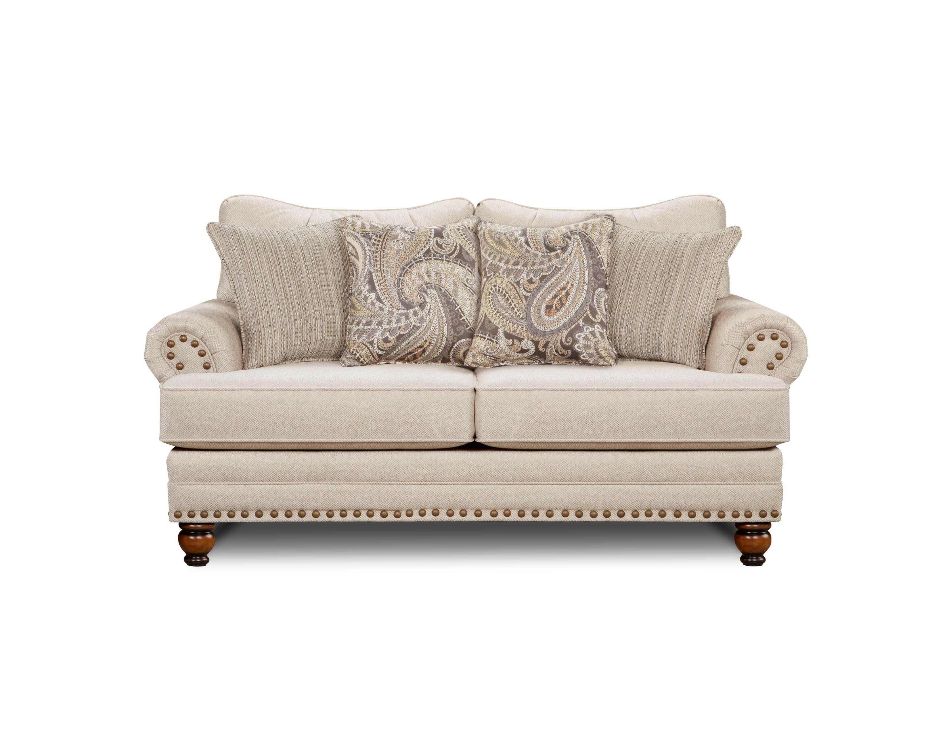 Carys Doe Fusion Furniture loveseat