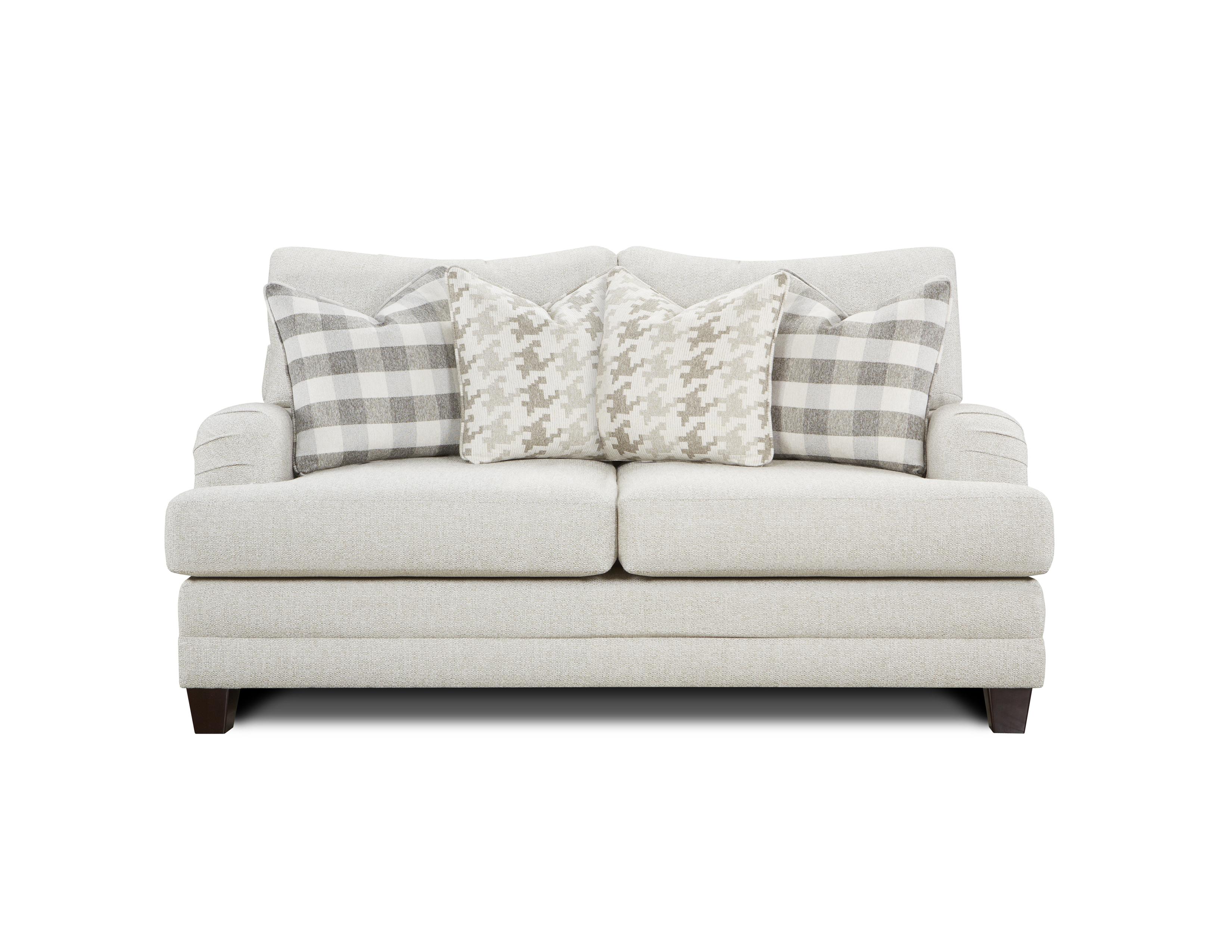 Basic Wool Fusion Furniture loveseat