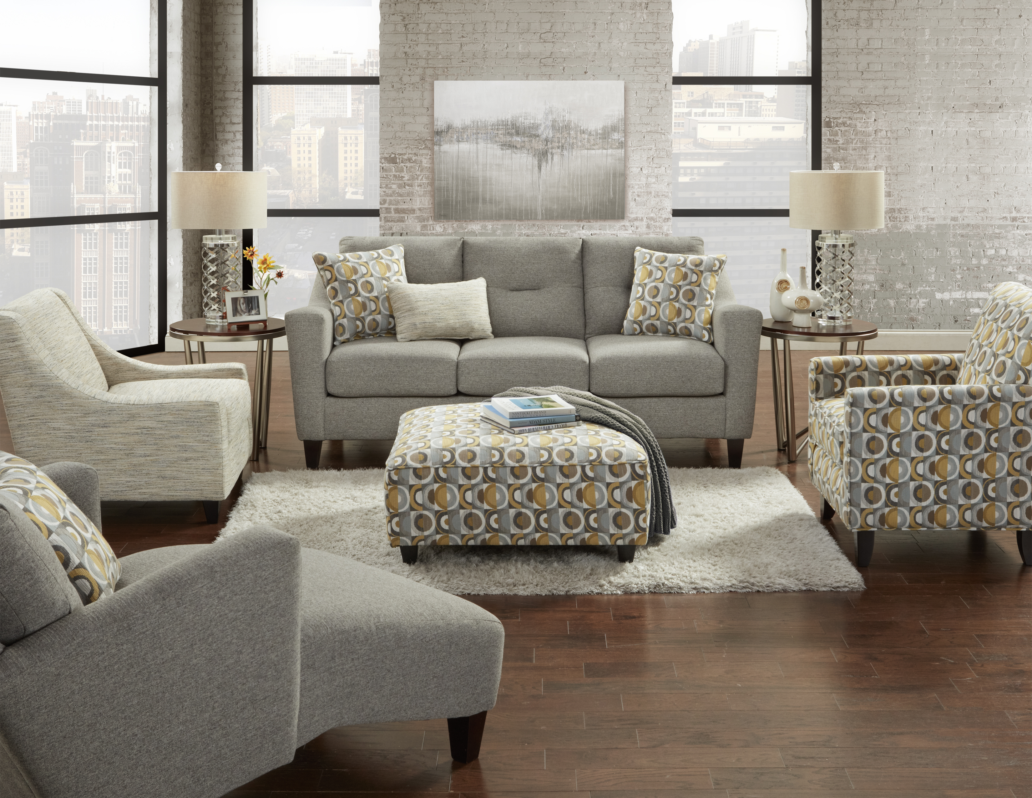 Fusion Furniture Dillist Mica room collection