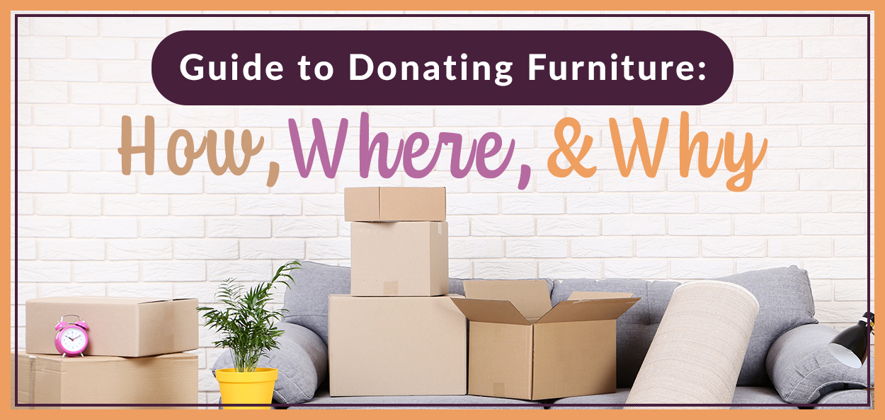 Where to donate furniture