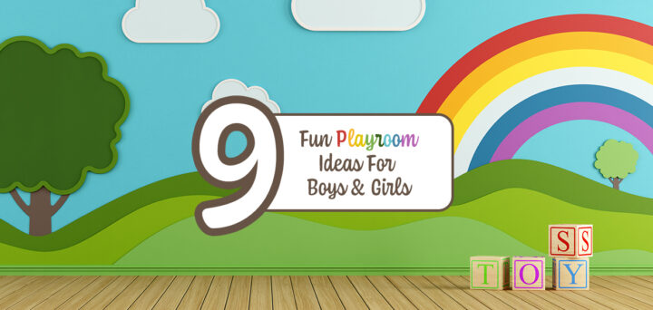 9 Fun Playroom Ideas for Boys & Girls
