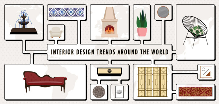 Interior Design Trends from Around the World [Infographic]