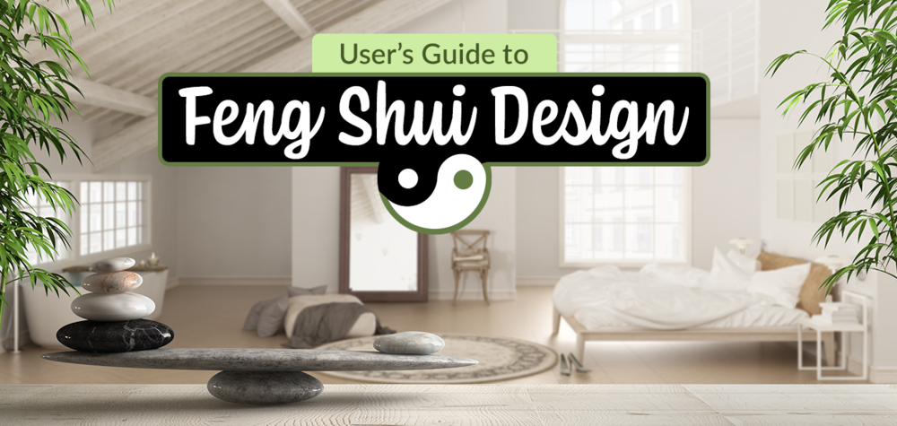 Room with Feng Shui design