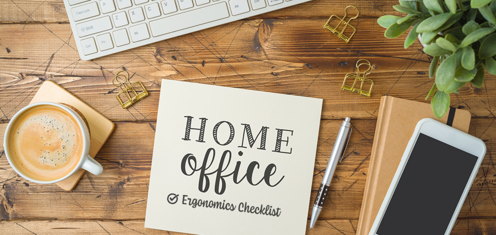 Office ergonomics checklist