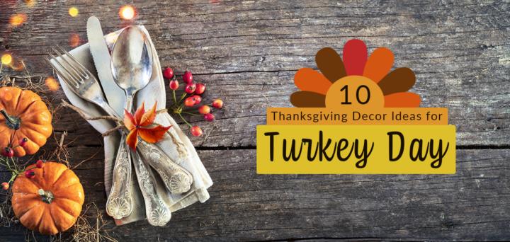 10 Thanksgiving Decor Ideas for Turkey Day