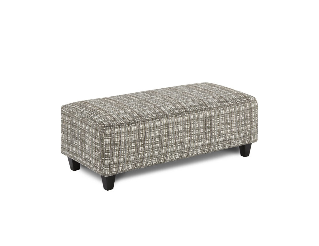 Potlatch Marine Fusion Furniture ottoman, Macarena Marine collection