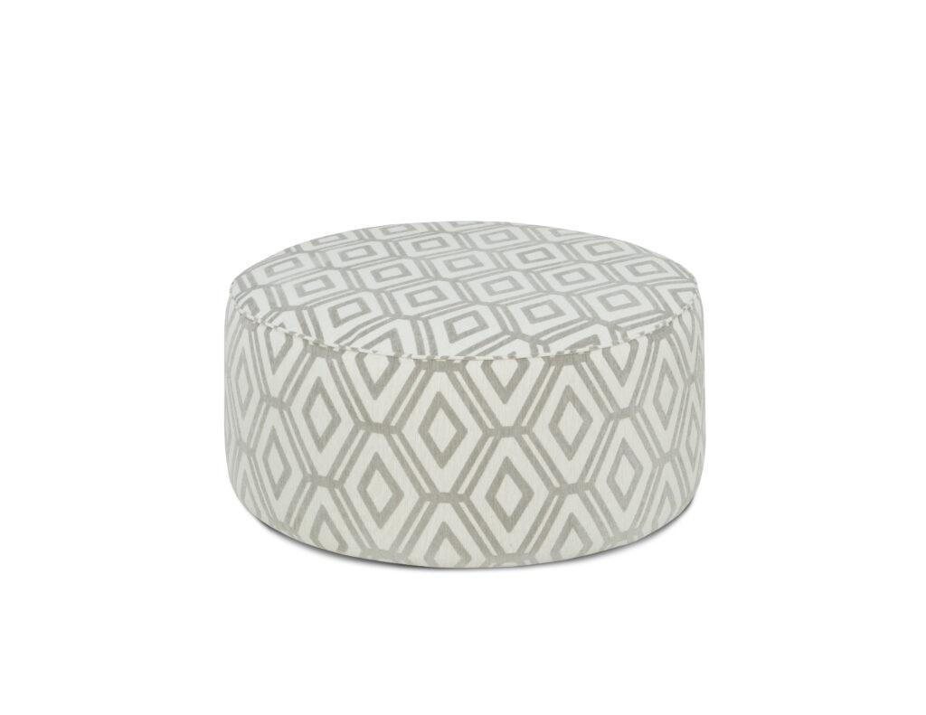 Malcom Fog Fusion Furniture ottoman, Studio Linen collection