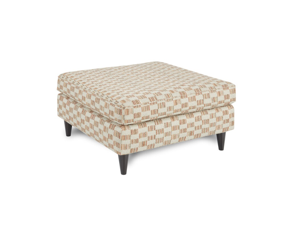 Sierra Spice Fusion Furniture ottoman, Raymour Ash collection