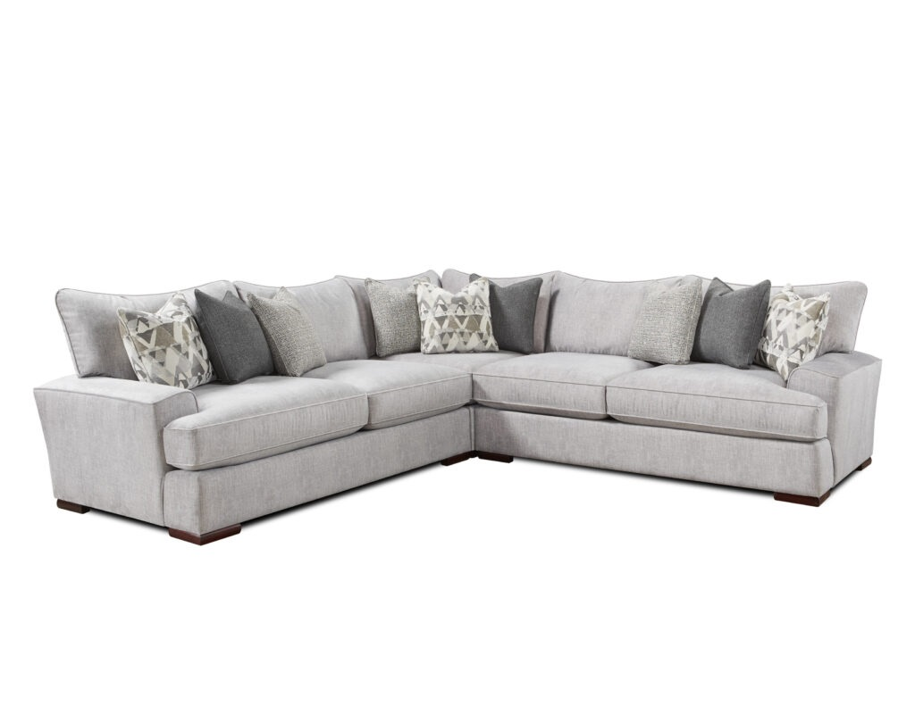 Alton Silver Fusion Furniture sectional
