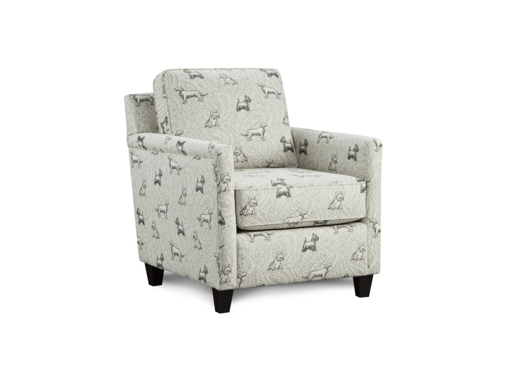 Biscuit Iron Fusion Furniture chair, Homecoming Stone collection