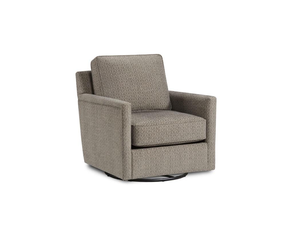 Kantha Gunmetal Fusion Furniture chair, Braxton Ivory collection