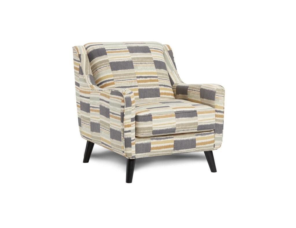 Seydou Canyon Fusion Furniture chair, Max Linen collection