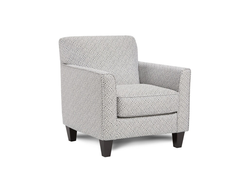Hippocrates Denim Fusion Furniture chair, Truth or Dare Salt collection