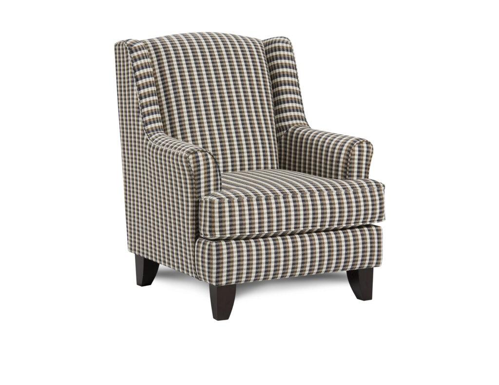 Chelsea Indigo Fusion Furniture chair, Truth or Dare Spice collection