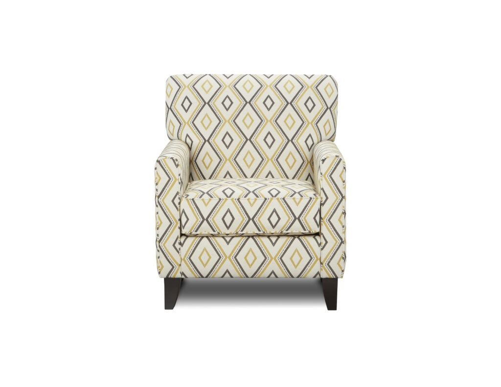 Maxwell Gray Dijon Fusion Furniture Accent Chair