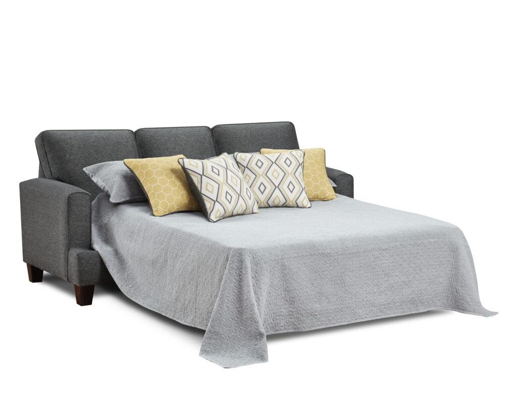 CON Fusion Furniture sleeper, Maxwell Gray Dijon collection