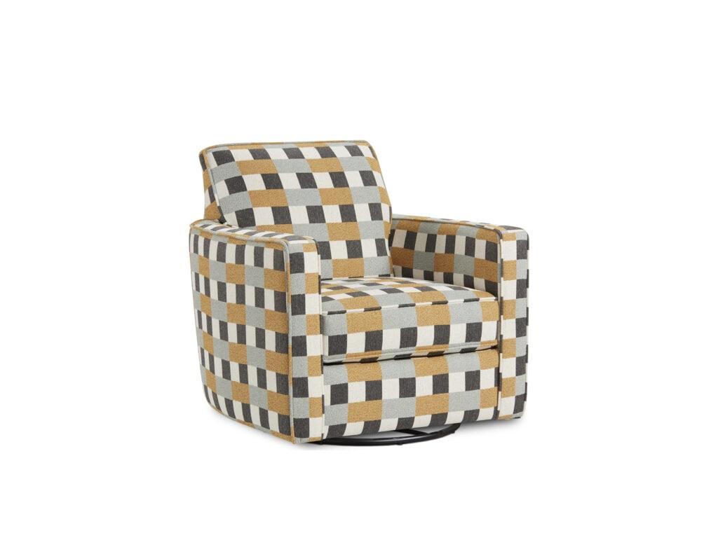 Tattletale Seaglass Fusion Furniture chair, Treaty Linen collection