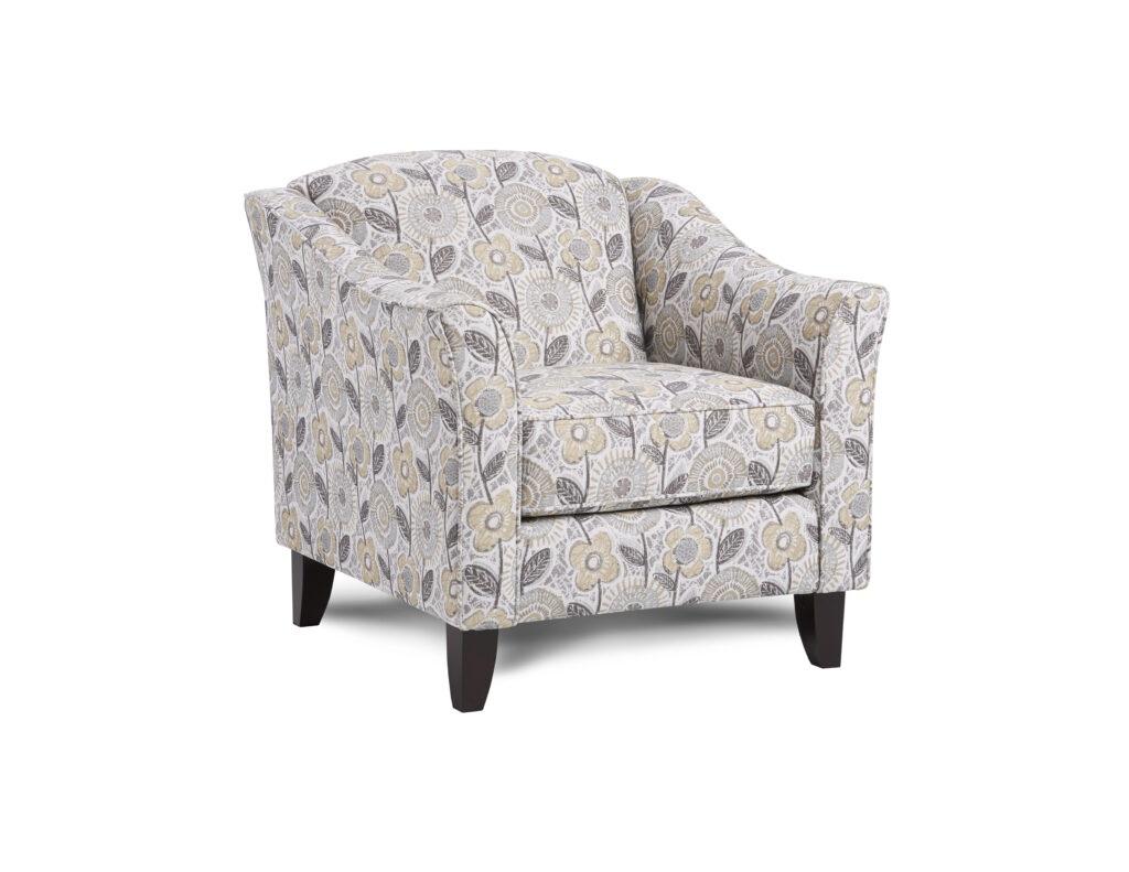 Dayflower Haze Fusion Furniture chair, Vandy Heather collection