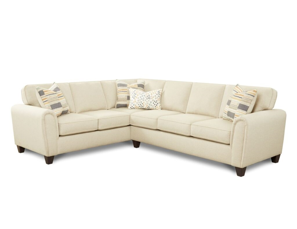 Max Linen Sectional