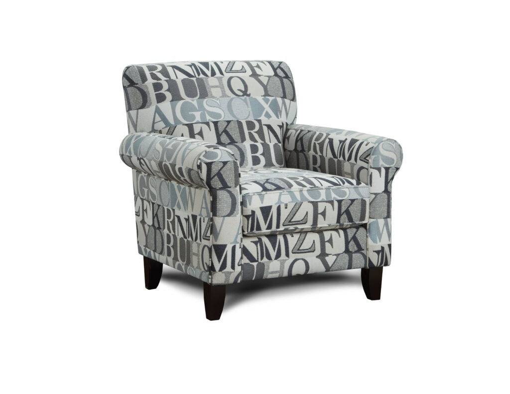 Anecdote Blue Fusion Furniture chair, Macarena Cadet collection