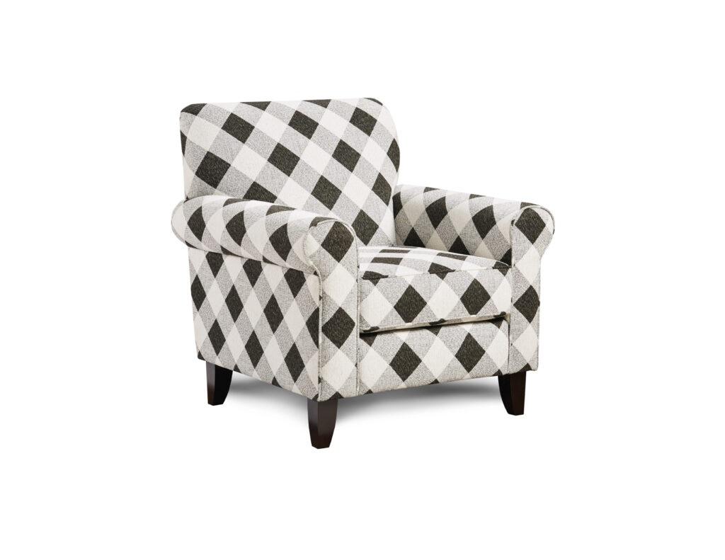 Castle Rock Iron Fusion Furniture chair, Shadowfax Dove collection