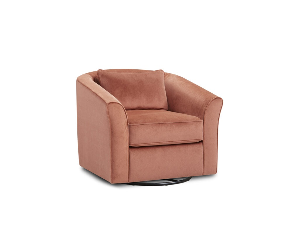 Geordie Clay Fusion Furniture chair, Raymour Ash collection