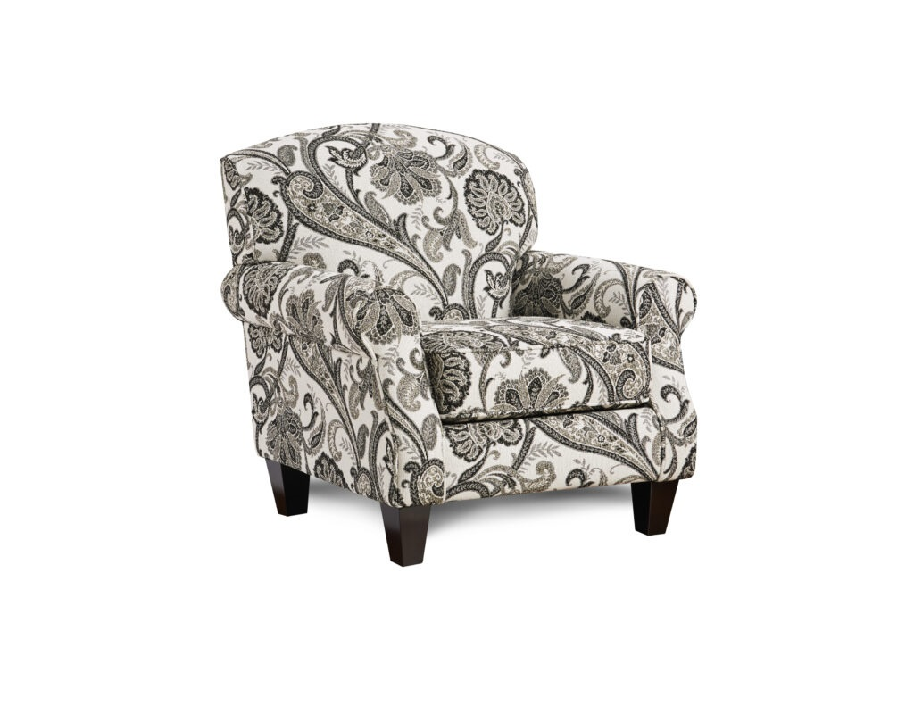 Abby Road Fusion Furniture chair, Shadowfax Dove collection