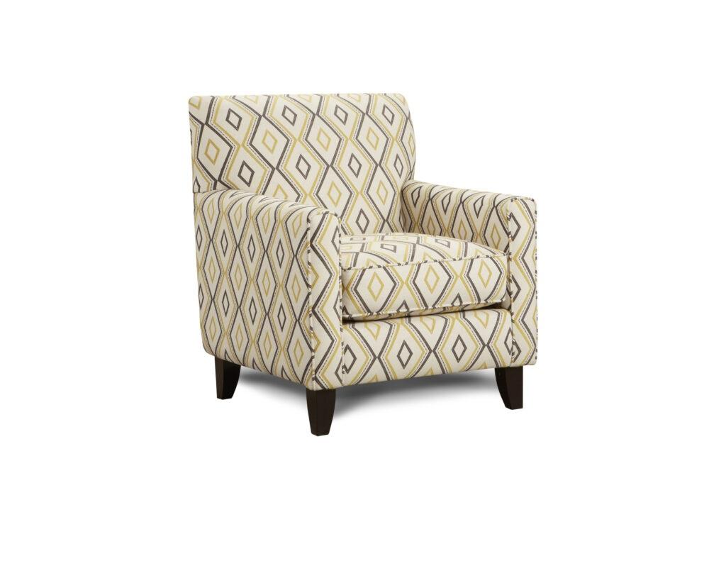 Doozie Dijon Fusion Furniture chair, Maxwell Gray Dijon collection