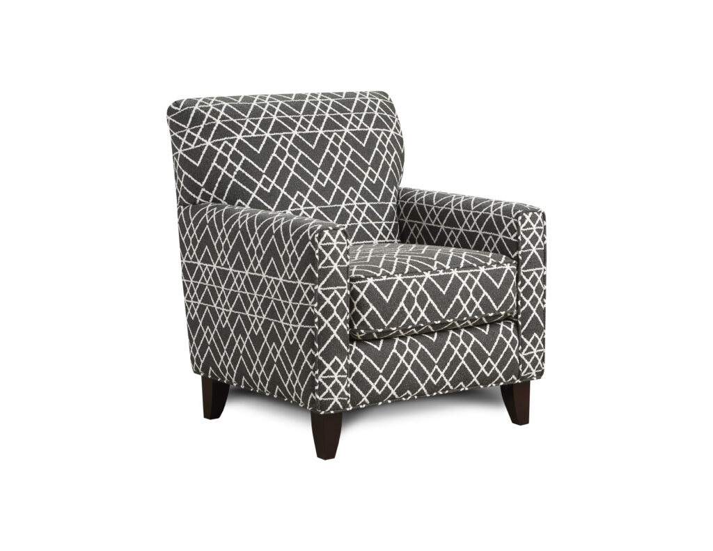 Hyphen Onyx Fusion Furniture chair, Popstitch Shell collection