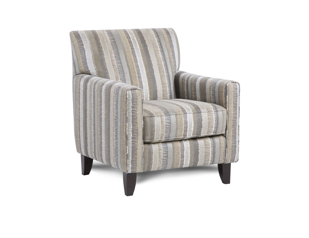 Savino Chambray Fusion Furniture chair, Max Pepper collection