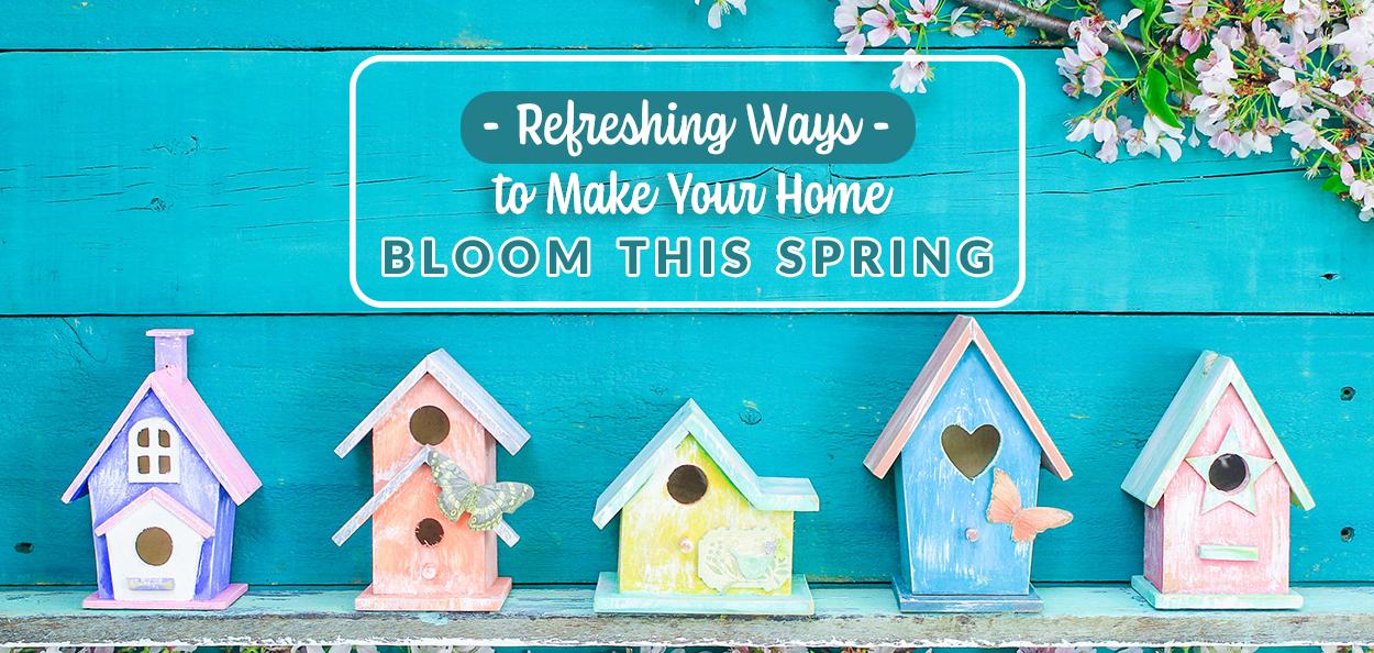 Outdoor decor for spring