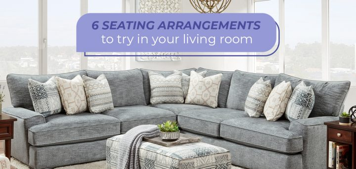 6 Seating Arrangements to Try in Your Living Room