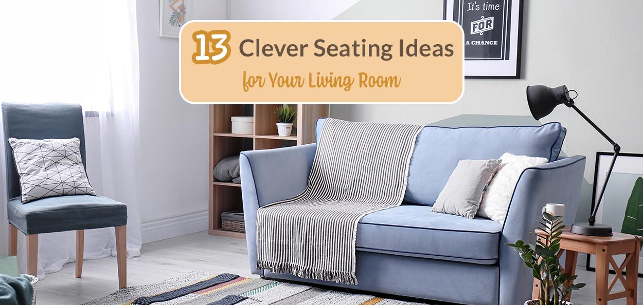 Living room seating idea