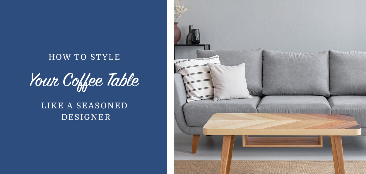 Coffee table styling idea